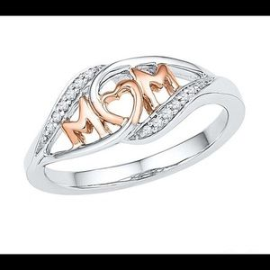 Rose Gold Diamond Ring Great Mother's Day Gift 🎁